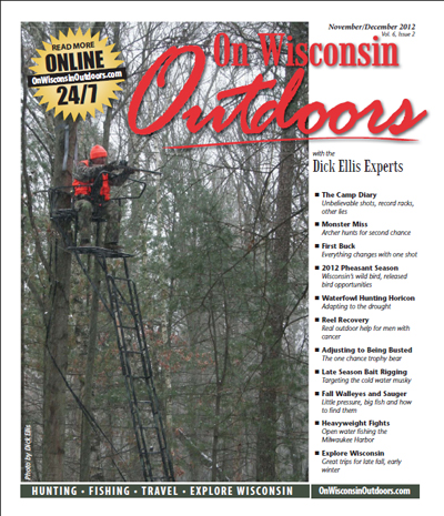 On Wisconsin Outdoors Nov/Dec - 2012