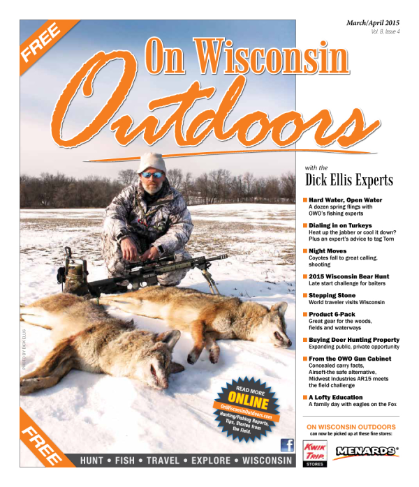 2015 Mar/Apr cover On Wisconsin Outdoors
