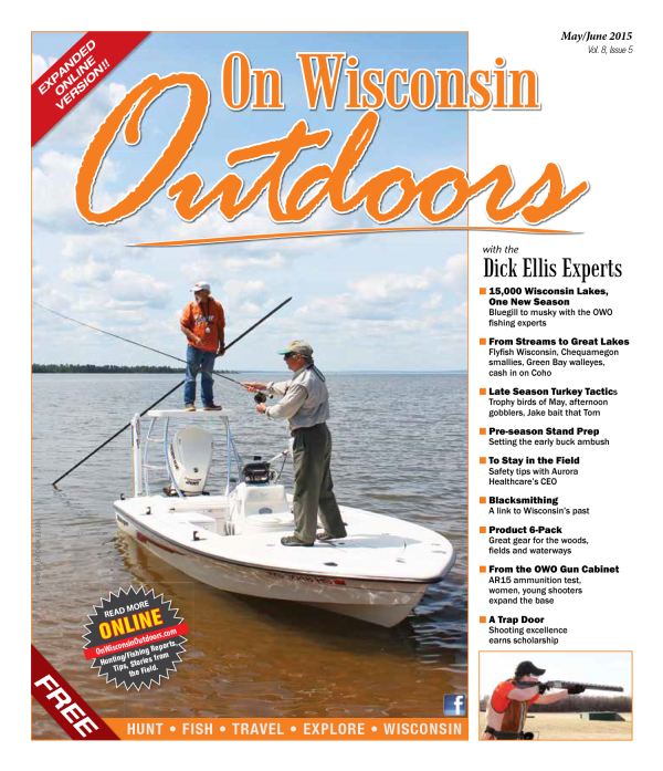 2015 May/June cover On Wisconsin Outdoors