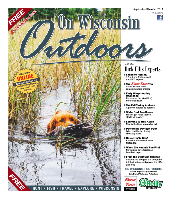 2015 September/October cover On Wisconsin Outdoors