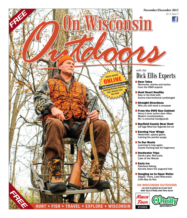 2015 November-December cover On Wisconsin Outdoors