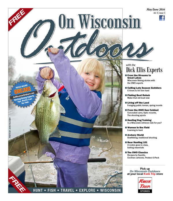 2016 May-Jun cover On Wisconsin Outdoors