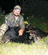 Mike Foss with bear