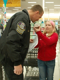 Shop With a Cop Dodge County