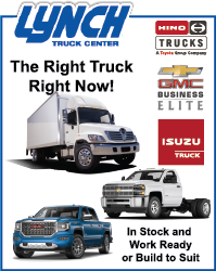 iew commercial truck inventory at the Lynch Truck Center