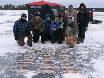 On wisconsin outdoors with dick ellis for Ice fishing show