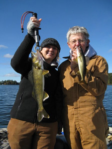 On wisconsin outdoors with dick ellis for Minocqua fishing report