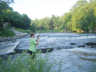 On wisconsin outdoors with dick ellis for Milwaukee river fishing