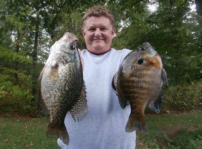 On wisconsin outdoors with dick ellis for Crappie fishing in ga